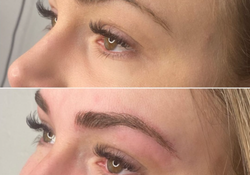 BROWS BEFORE & AFTER